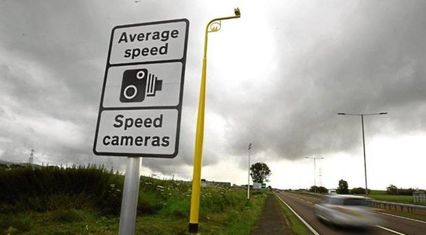 Average speed cameras were switched on along the A90 at the end of October (Transport Scotland/PA)