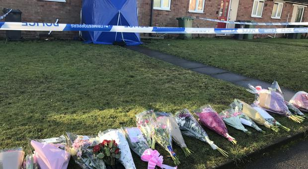 Floral tributes in remembrance of Mylee Billingham (Phil Barnett/PA)