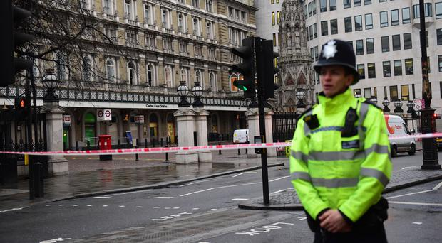 Charing Cross and Waterloo East stations have both reopened after a gas leak was repaired in central London (David Mirzoeff/PA)