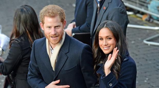 The royal wedding will take place in Windsor in May (Joe Giddens/PA)
