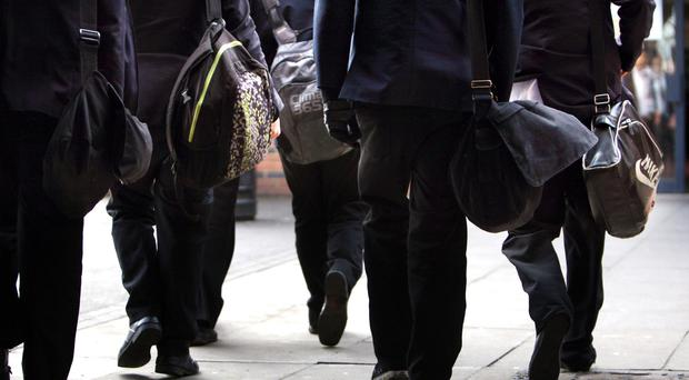 The study said the amount of teenagers who had assaulted people was 'surprisingly large' (David Jones/PA)