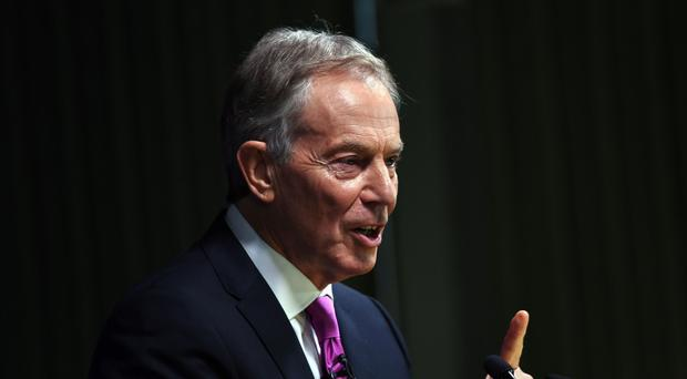 Tony Blair has warned the UK is on course for a 'hotch-potch' Brexit deal (Victoria Jones/PA)