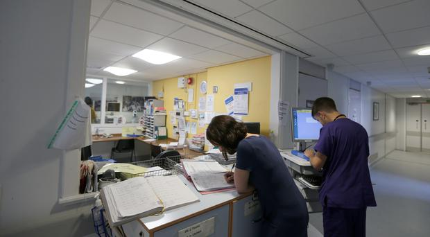 A glitch has affected computer systems across NHS Wales (Lynne Cameron/PA)