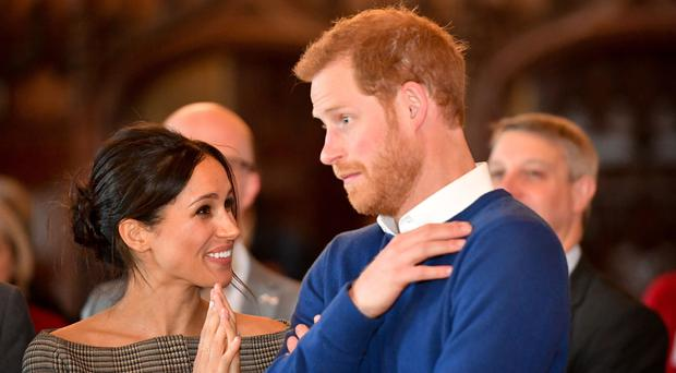Prince Harry and Meghan Markle are due to marry in Windsor in May (Ben Birchall/PA)