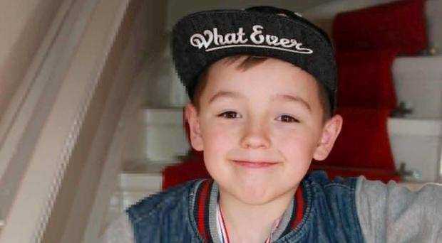 Ciaran Williamson died after being hit by a falling gravestone in a Glasgow cemetery (Police Scotland/PA)