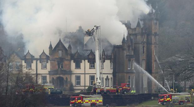 Two people died following a fire at Cameron House Hotel on December 18 (Andrew Milligan/PA)