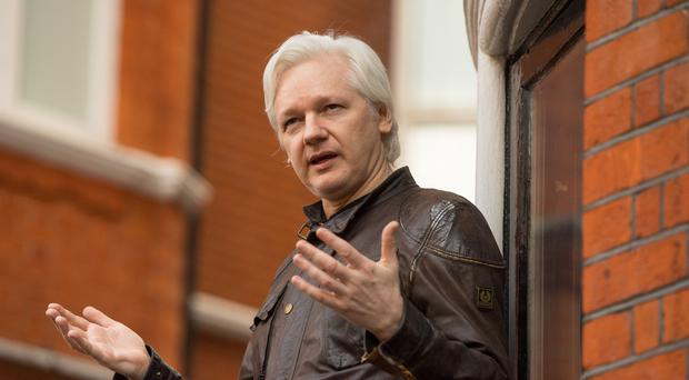 Julian Assange has been at the Ecuadorian embassy in London since August 2012