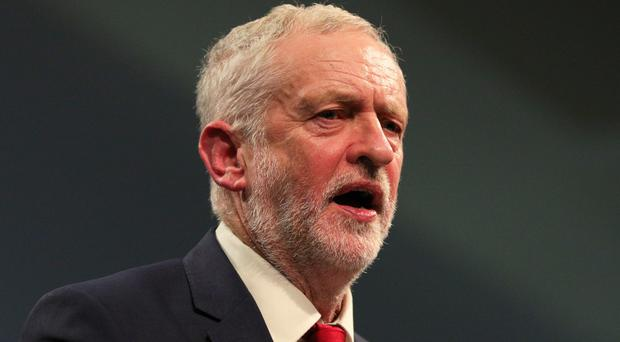 The controversy was over the Labour leader's message for Holocaust Memorial Day (Aaron Chown/PA)