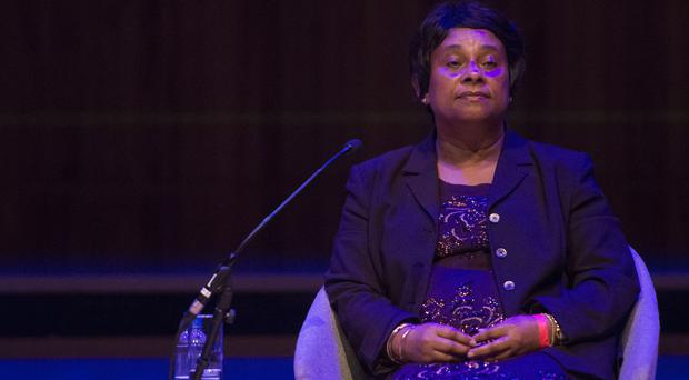 Baroness Lawrence called for the Government to 'get a grip' on surging levels of stabbings in the capital (Lauren Hurley/PA)