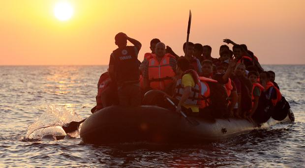Academics are to study the impact of political speeches on shaping public views on the migrant crisis in Europe (Jonathan Brady/PA)
