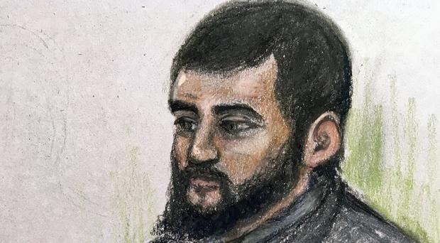 Umar Haque had allegedly resolved to strike landmarks including Big Ben and Westfield shopping centre (Elizabeth Cook/PA)