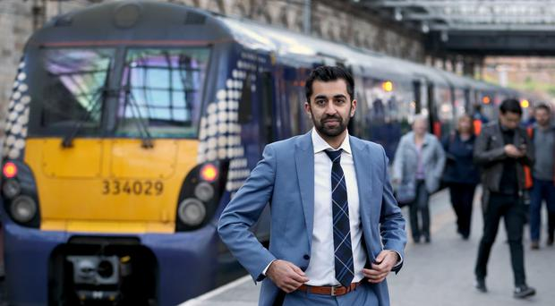 Transport Minister Humza Yousaf responds to survey (Jane Barlow/PA)