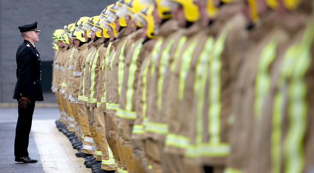 Firefighters could see a pay rise for an expanded role (Jane Barlow/PA)