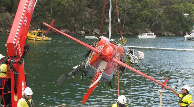 Sydney seaplane crash: Aircraft hit water away from standard flight path