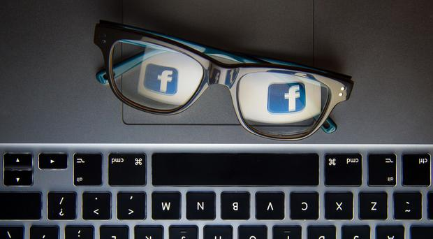Many Facebook users are spending less time on the site (Dominic Lipinski/PA)