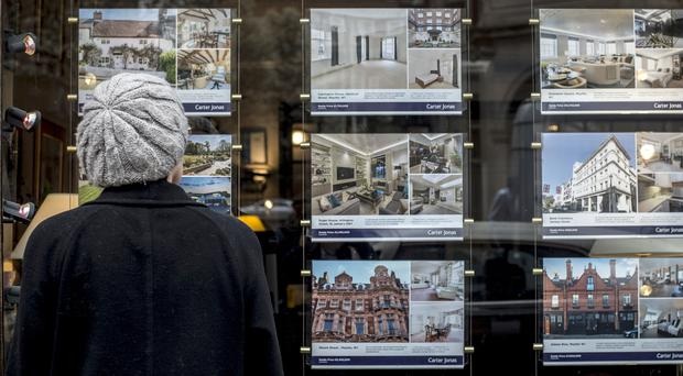 House prices in UK cities have been on the rise over the last five years (Lauren Hurley/PA)