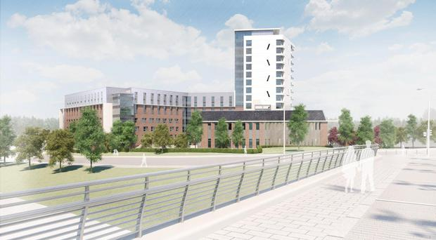 The first project in Glasgow is expected to open to students next year (Structured House Group/PA)