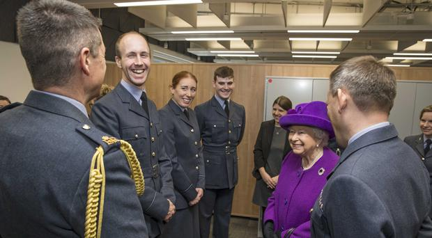 The Queen has visited RAF Marham where she officially opened the Lightning Operations Centre (Cpl Steve Buckley/PA)