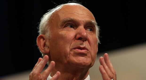 Sir Vince Cable (Andrew Matthews/PA)