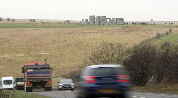 Road plans round Stonehenge could damage a unique archaeological site, experts warn (Steve Parsons/PA)