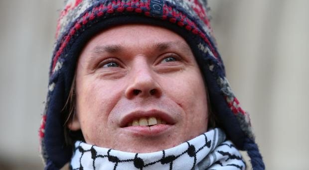 Lauri Love extradition hearing (Isabel Infantes/PA)