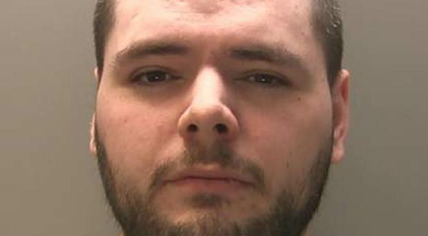 Kyle Enos admitted using the dark web to buy and supply a drug 50 times more potent than heroin (National Crime Agency /PA)