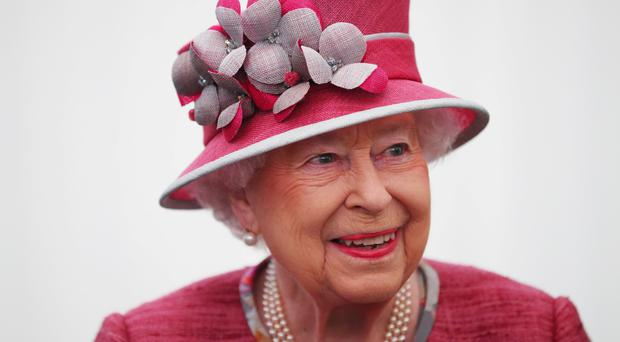 The Queen was told to 'be brave' by her mother (Hannah McKay/PA