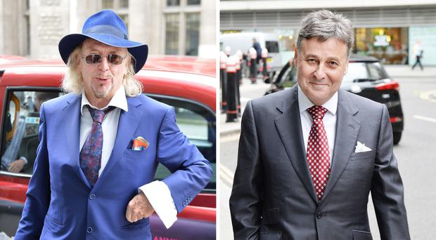 Blackpool FC boss Owen Oyston, left, has lost the latest round of a High Court fight with businessman Valeri Belokon (John Stillwell/PA)