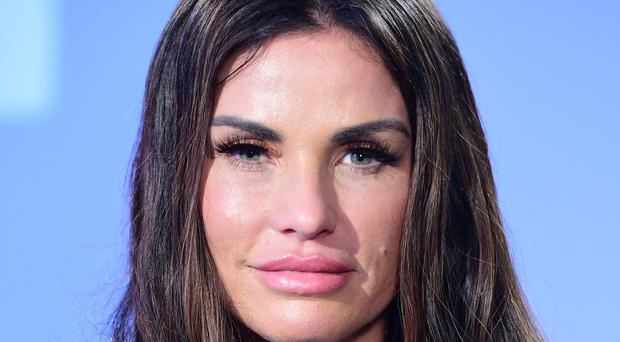 Katie Price is calling on MPs to take a tougher line on online abuse (Ian West/PA)