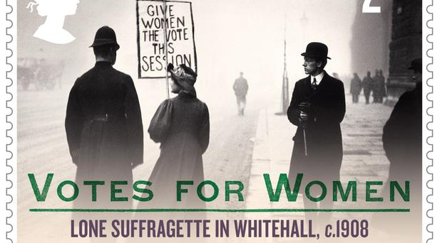 New stamps celebrate women's right to vote (Royal Mail/PA)