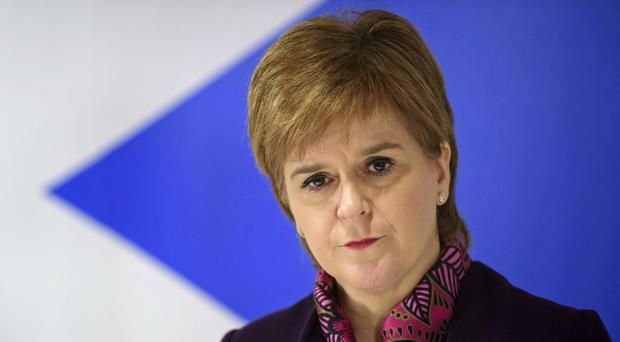 Nicola Sturgeon announced the new fund to encourage women into politics (John Linton/PA)