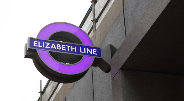 London Underground's new Elizabeth Line is due to open in December (Transport for London/PA)