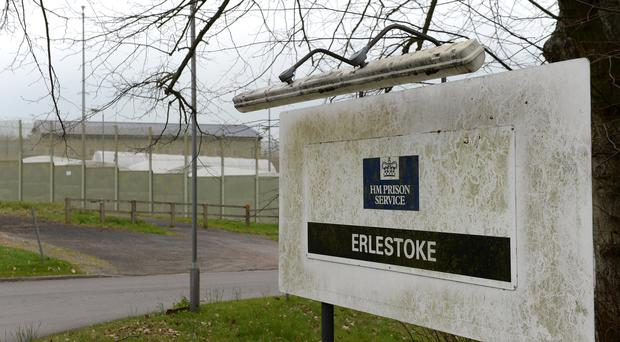 HMP Erlestoke in Wiltshire (Joe Giddens/PA)