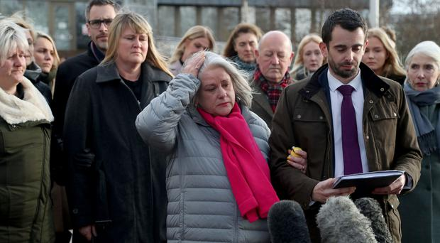 Joanne McLaren, mother of Molly McLaren has called for more awareness of the dangers of stalking (Gareth Fuller/PA)