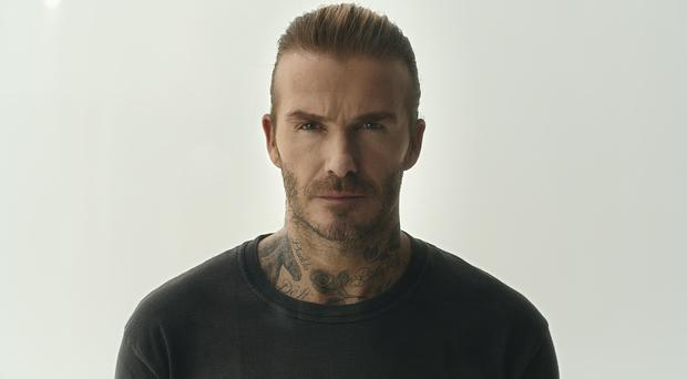 David Beckham backs new campaign in the fight against malaria (Keiron O'Connor/PA)