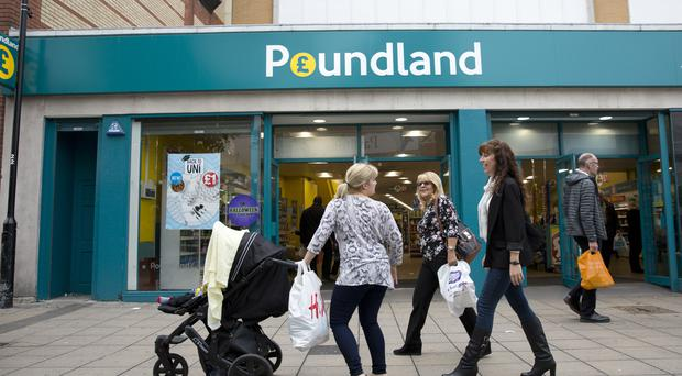 Poundland enjoyed its most successful December since it began trading in 1990 (Isabel Infantes/PA)