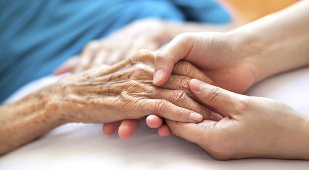 Dementia care for elderly people living in care homes is improved by just one hour of social interaction each week, a University of Exeter study has found (Thinkstock/PA).