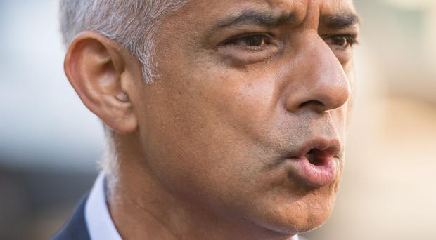 Mayor of London Sadiq Khan (Dominic Lipinski/PA)