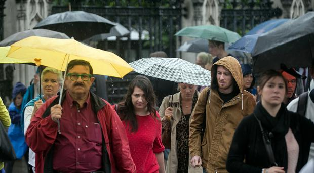 Untold billions of viruses rain down on Earth each day, research shows (Daniel Leal-Olivas/PA)