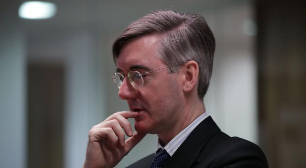 Conservative MP Jacob Rees-Mogg was giving evidence to a hearing of Parliament's Joint Human Rights Committee (Yui Mok/PA)