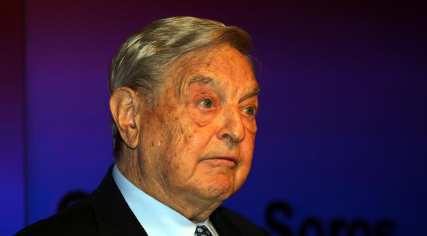 George Soros has backed anti-Brexit campaign Best for Britain (Sean Dempsey/PA)