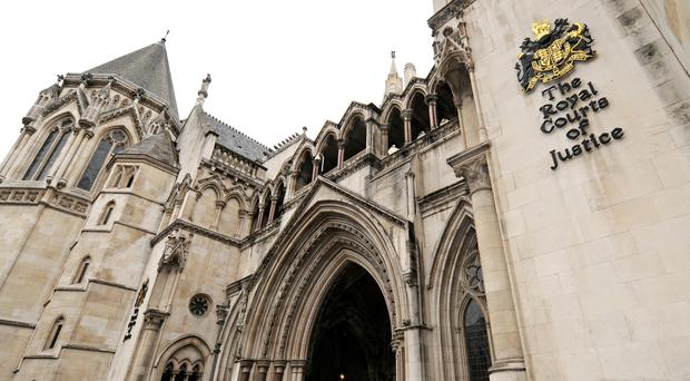 London's High Court (Anthony Devlin/PA)