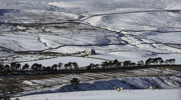 The Met Office has issued yellow weather warnings for much of the UK as the cold snap persists (Owen Humphreys/PA)