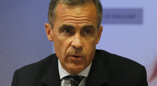 Bank of England boss Mark Carney