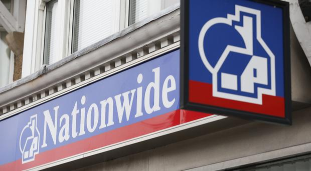 A Nationwide branch, as the building society updates on its third quarter performance (PA)