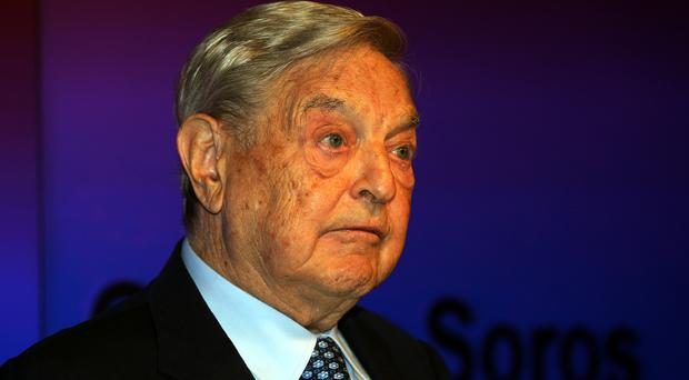 George Soros has defended handing £400,000 to Best for Britain (Sean Dempsey/PA)