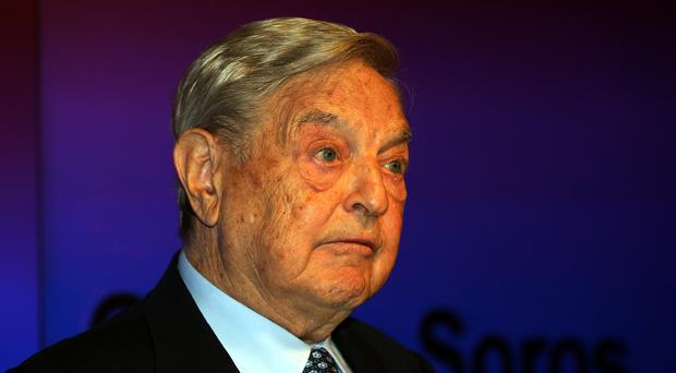 Billionaire investor George Soros is pledging more funding for anti-withdrawal push (Sean Dempsey/PA)
