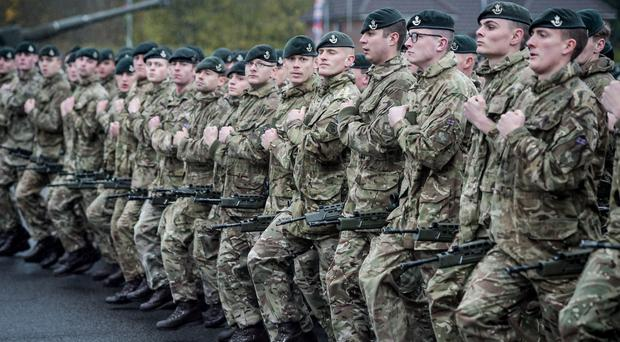 Tory former minister raises concern about Army recruitment numbers (Ben Birchall/PA)