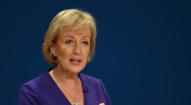 Andrea Leadsom is among MPs to have been targeted by death threats (Joe Giddens/PA)