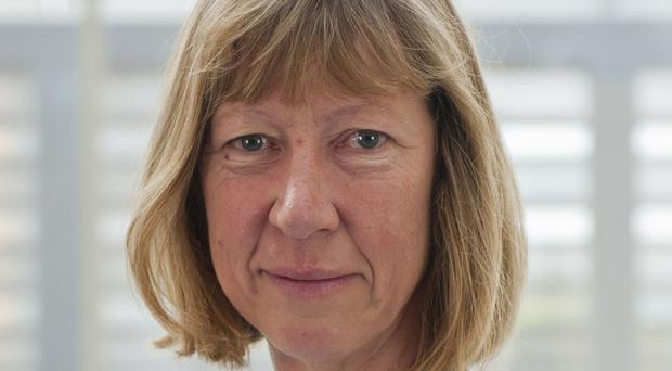 Penny Lawrence, who has resigned (Oxfam/PA)